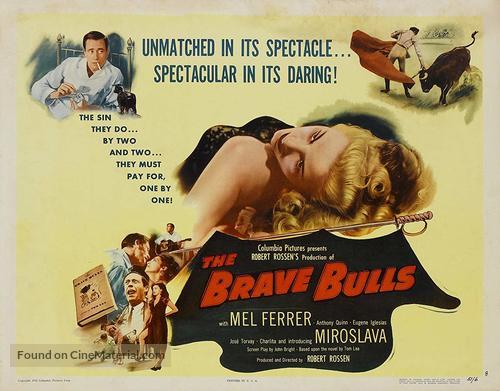 The Brave Bulls - Movie Poster