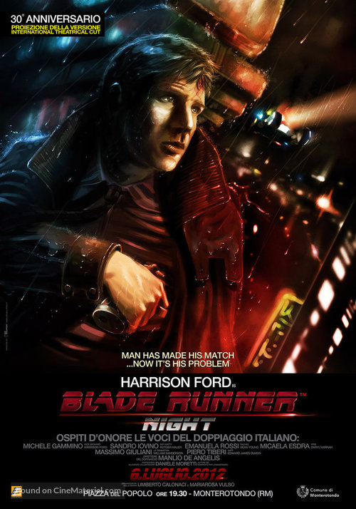 Blade Runner - Italian Movie Poster