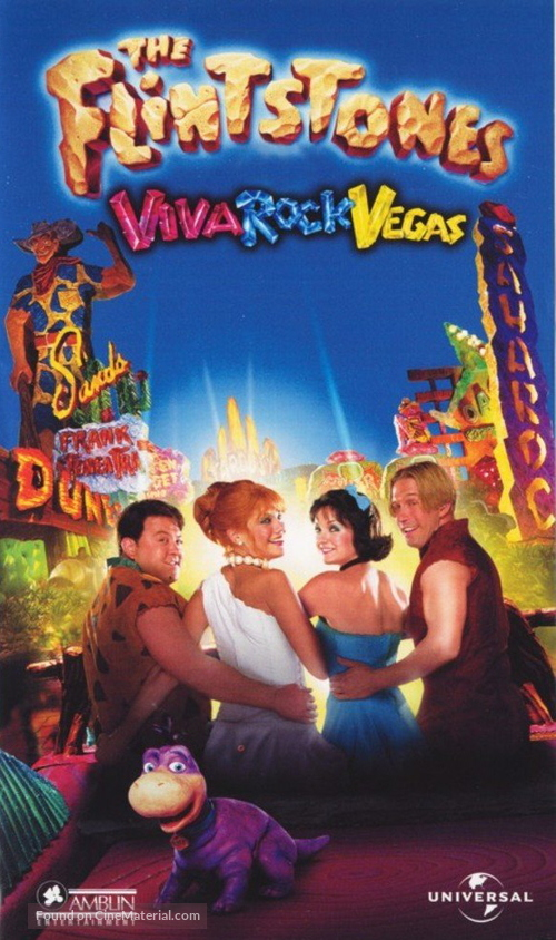 The Flintstones in Viva Rock Vegas - Finnish poster