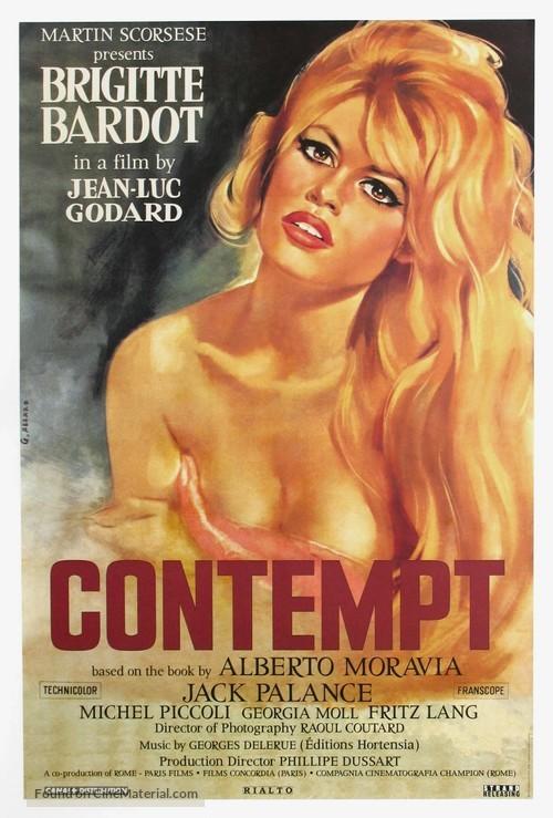 Le mépris - Movie Poster
