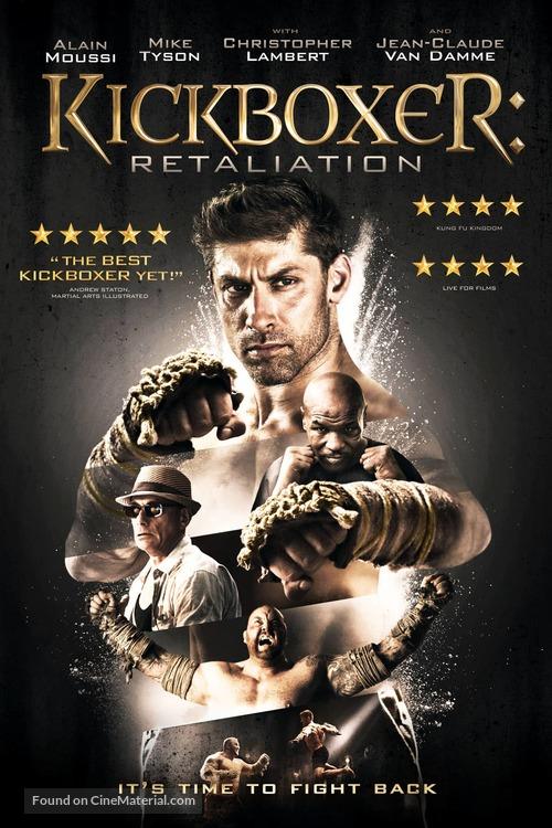 Kickboxer: Retaliation - DVD movie cover
