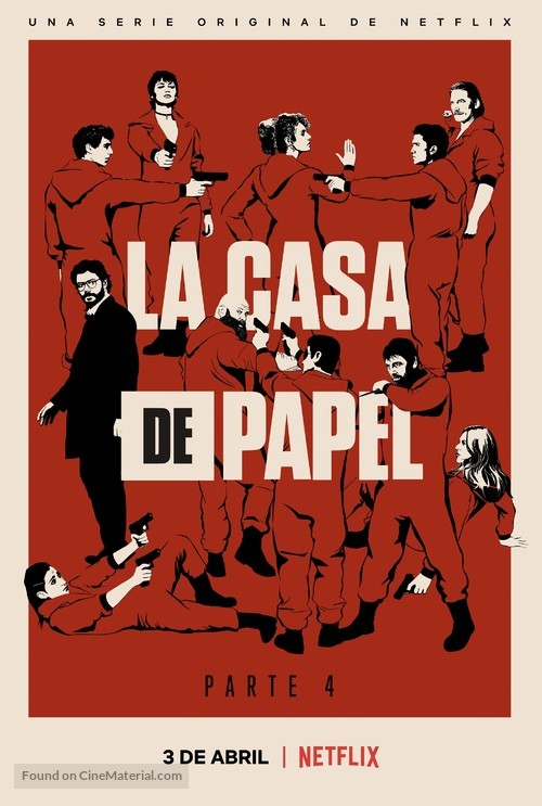 """La casa de papel"" - Spanish Movie Poster"
