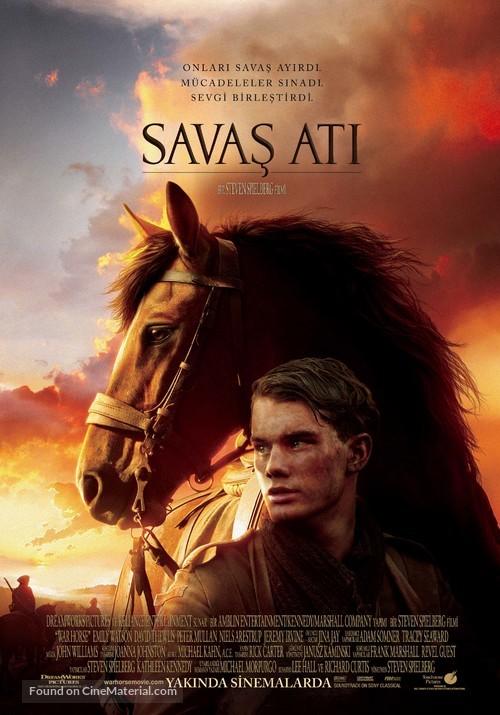 War Horse - Turkish Movie Poster