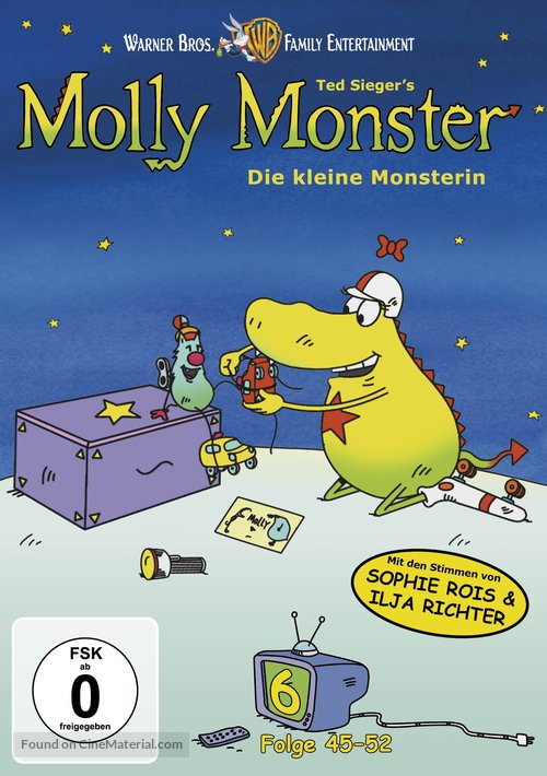 """""""Die kleine Monsterin"""" - German DVD movie cover"""
