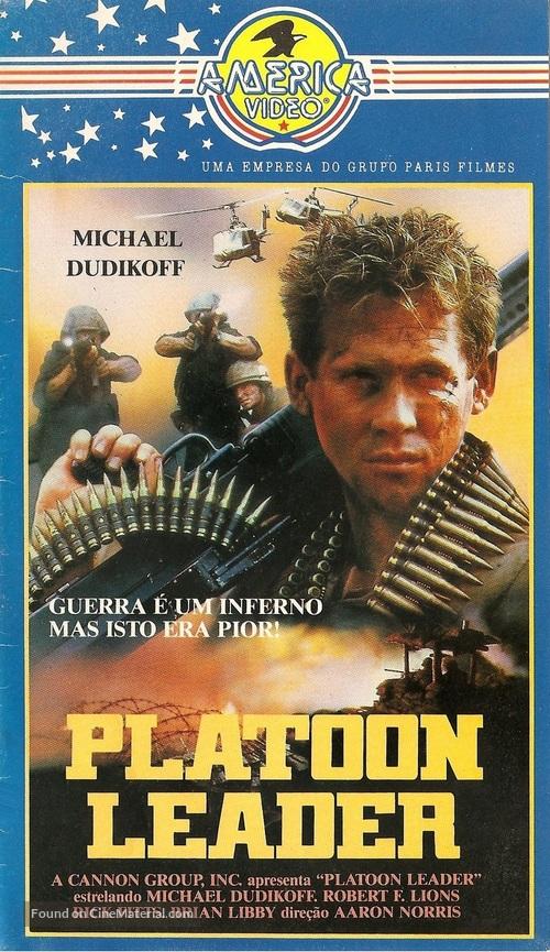 Platoon Leader - Brazilian Movie Cover