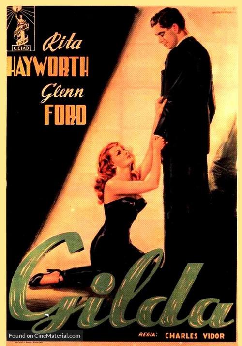 Gilda Poster////Gilda Movie Poster////Movie Poster////Poster Reprint
