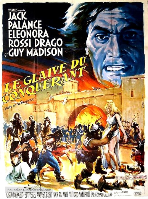 Rosmunda e Alboino - French Movie Poster