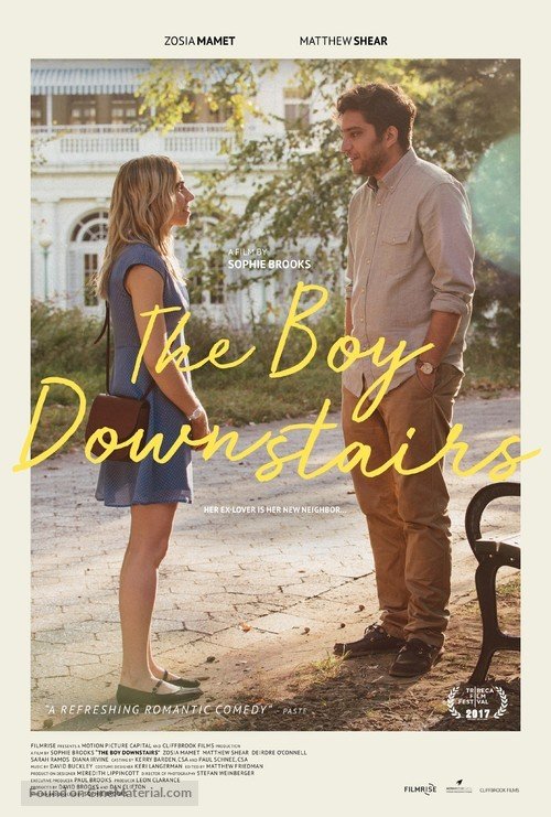 The Boy Downstairs - Movie Poster