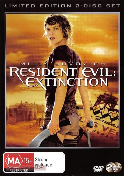 Resident Evil: Extinction - Australian Movie Cover