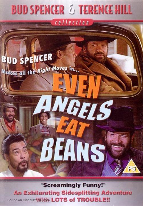 Anche Gli Angeli Mangiano Fagioli - British Movie Cover