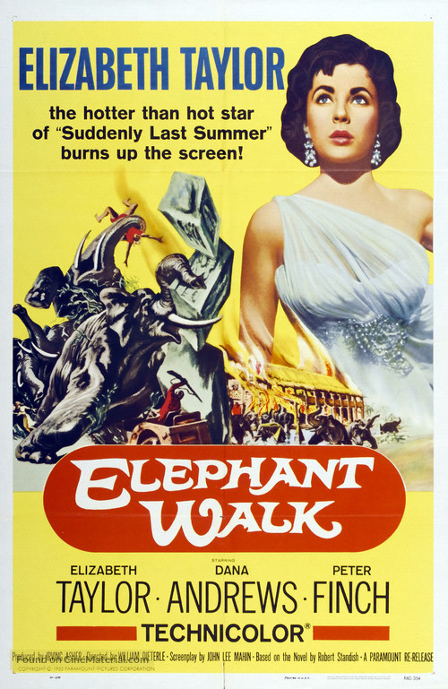 Elephant Walk - Movie Poster