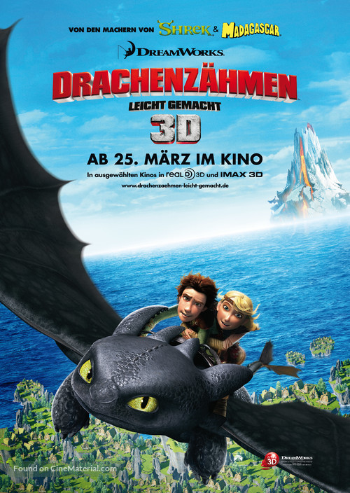 How to Train Your Dragon - German Movie Poster