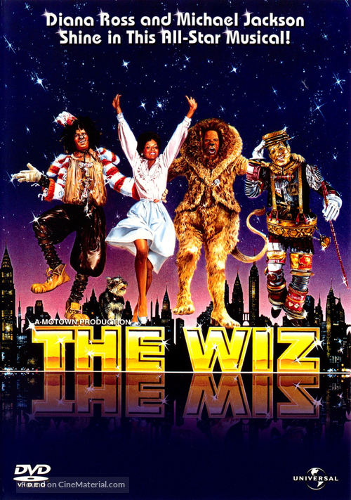 The Wiz - DVD movie cover