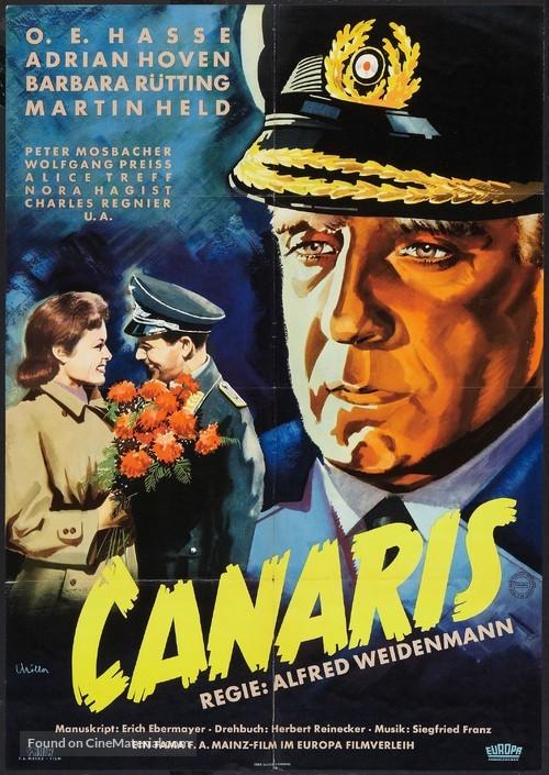 Canaris - German Movie Poster