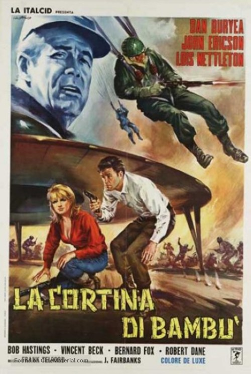The Bamboo Saucer - Italian Movie Poster