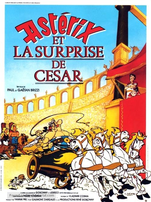 Astérix et la surprise de César - French Movie Poster
