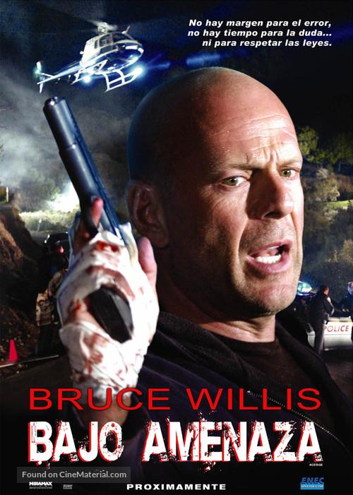 Hostage - Uruguayan Movie Poster