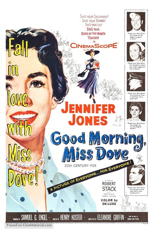Good Morning, Miss Dove - Movie Poster