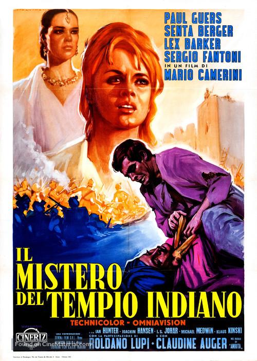 Il mistero del tempio indiano - Italian Movie Poster
