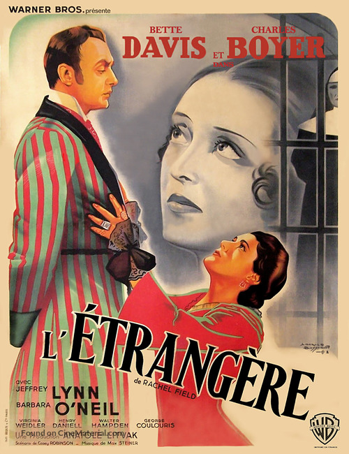 All This, and Heaven Too - French Movie Poster