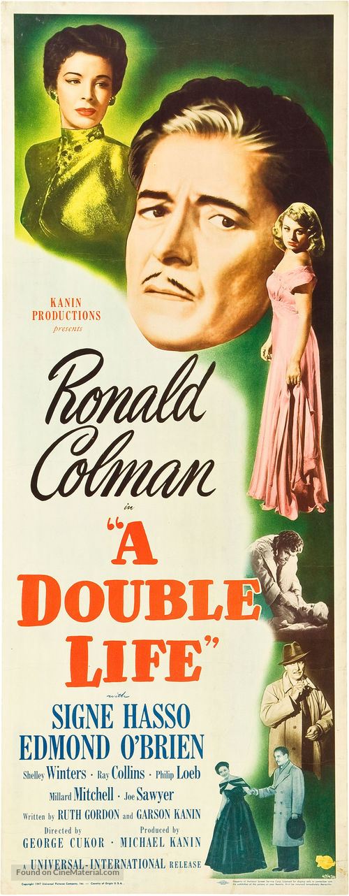 A Double Life - Movie Poster