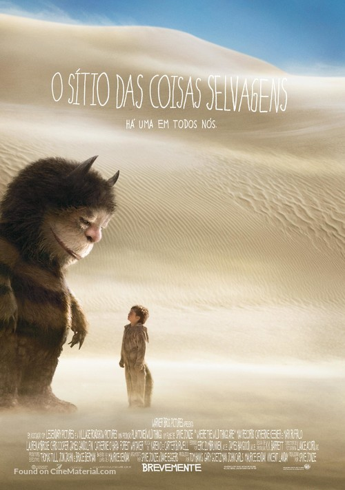 Where the Wild Things Are - Portuguese Movie Poster