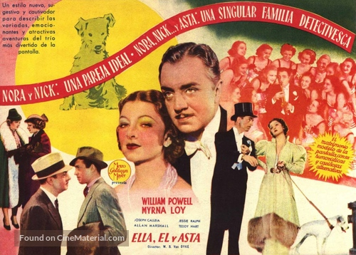 After the Thin Man - British Movie Poster