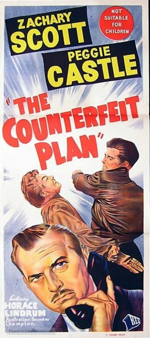 The Counterfeit Plan - Australian Movie Poster