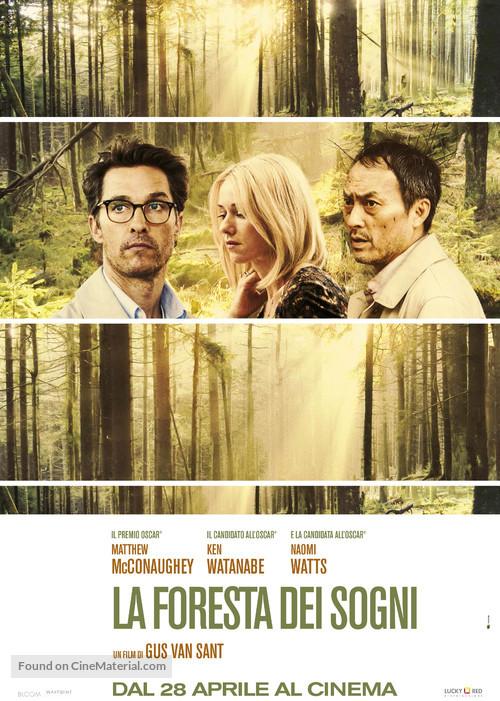 The Sea of Trees - Italian Movie Poster