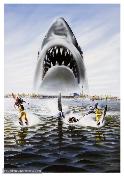 Jaws 3D - Key art