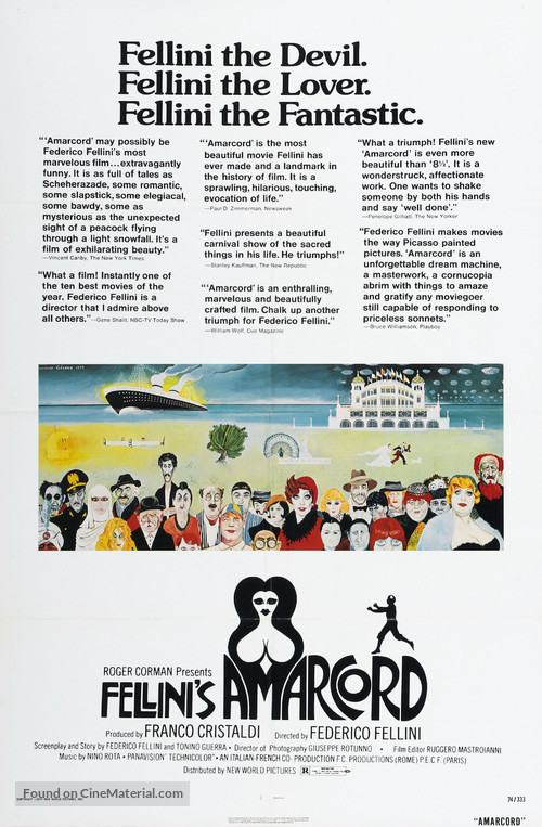 Amarcord - Movie Poster