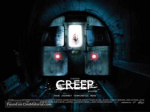 Creep - British Movie Poster
