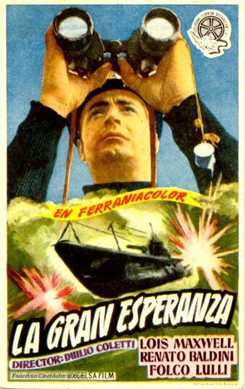 La grande speranza - Spanish Movie Poster