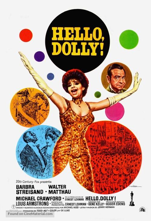 Hello, Dolly! - Spanish Movie Poster