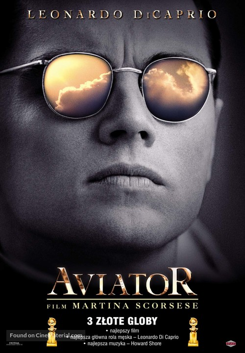 The Aviator - Polish Movie Poster