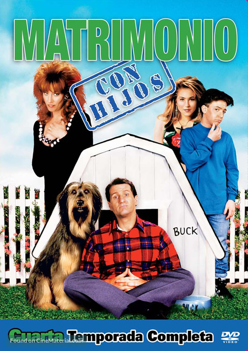 """""""Married with Children"""" - Spanish DVD movie cover"""
