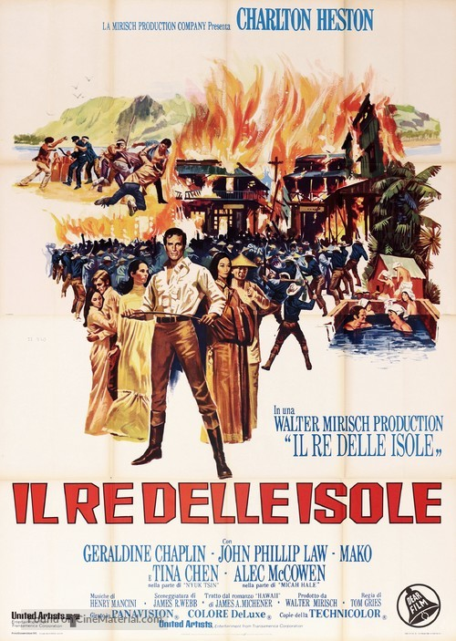 The Hawaiians - Italian Movie Poster