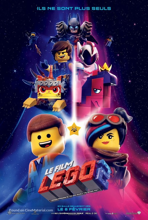 The Lego Movie 2: The Second Part - Canadian Movie Poster