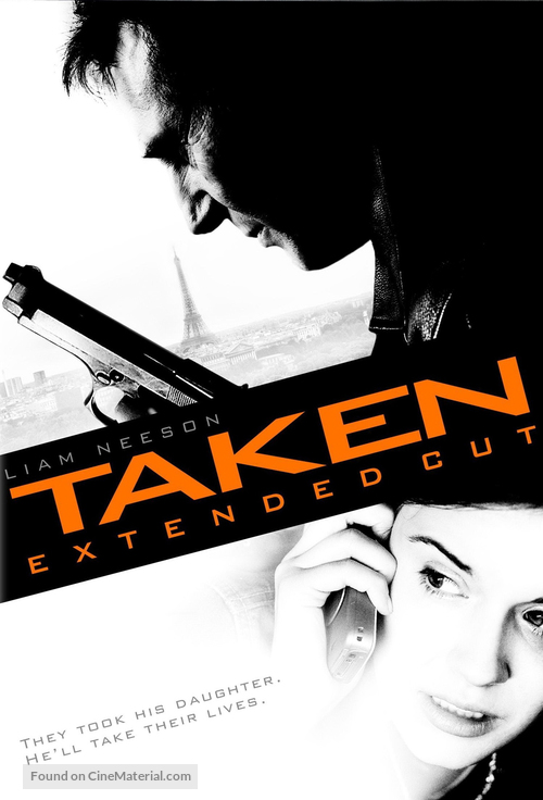Taken - French Movie Cover