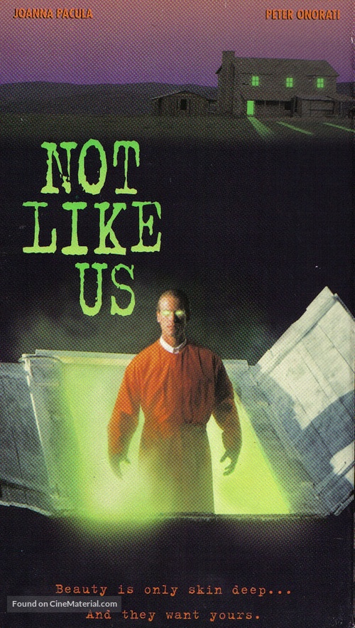 Not Like Us - VHS movie cover