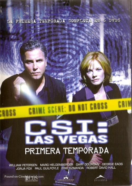 """""""CSI: Crime Scene Investigation"""" - Argentinian DVD movie cover"""