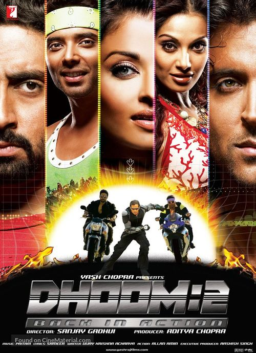 Dhoom 2 - Indian Movie Poster