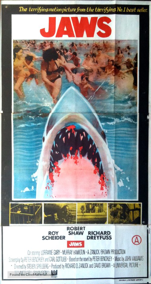Jaws - Indian Movie Poster