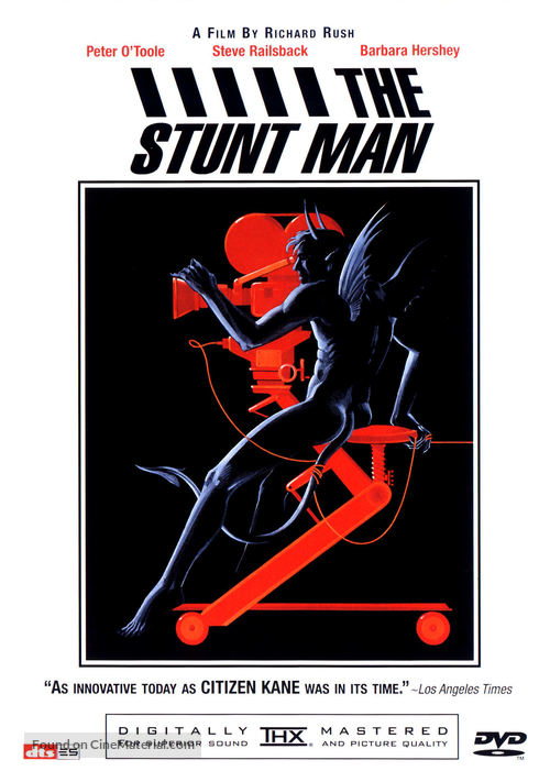 The Stunt Man - DVD movie cover