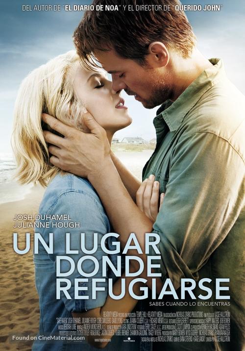 Safe Haven - Spanish Movie Poster
