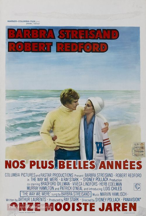 The Way We Were - Belgian Movie Poster