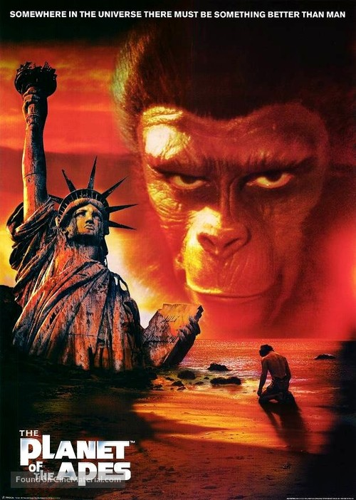 Planet of the Apes - DVD cover