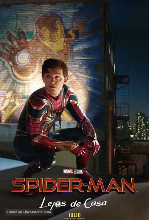 Spider-Man: Far From Home - Argentinian Movie Poster