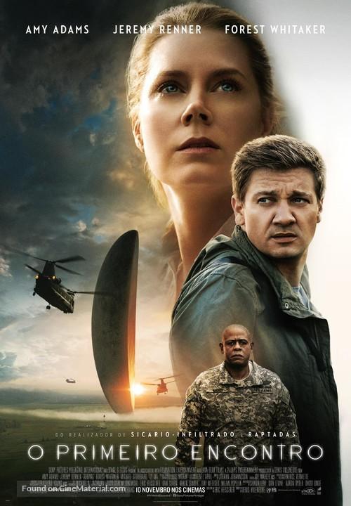 Arrival - Portuguese Movie Poster