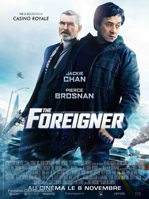 The Foreigner - French Movie Poster